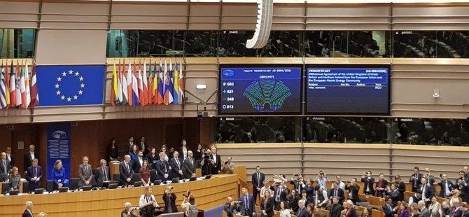 AP, Brexit Anlaşması'nı onayladı