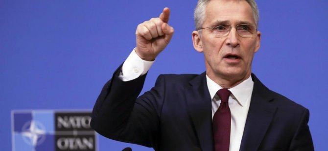 'NATO olarak Türkiye'nin yanındayız'