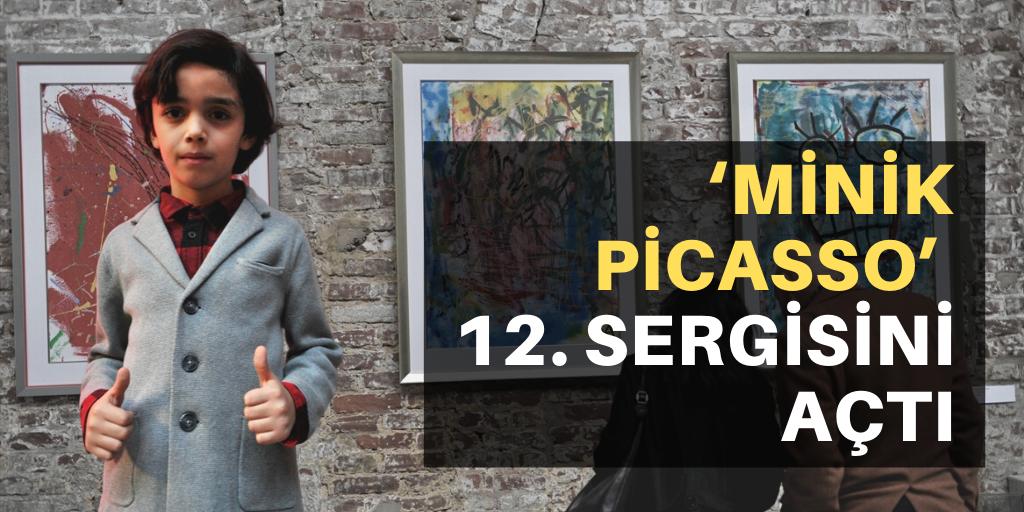 """Minik Picasso"" 12. sergisini açtı"