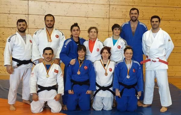 Milli judocularAlmanya'dan 6 madalya ile döndü