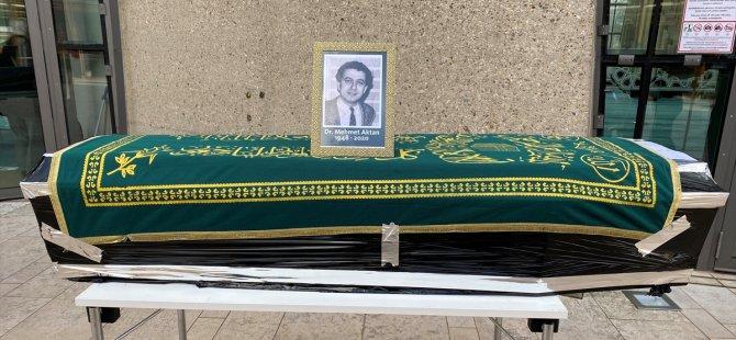 Aktan'ın cenazesi Türkiye'ye gönderildi