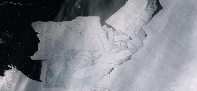 Malta büyüklüğünde buzul yok oldu