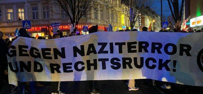 Almanya'nın 50 kentinde ırkçılık protestosu