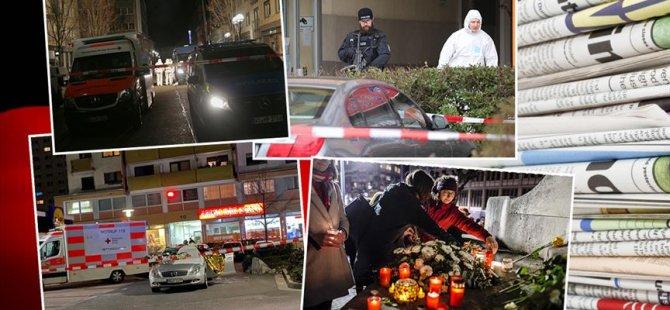 Alman basınında Hanau'daki ırkçı terör saldırısı