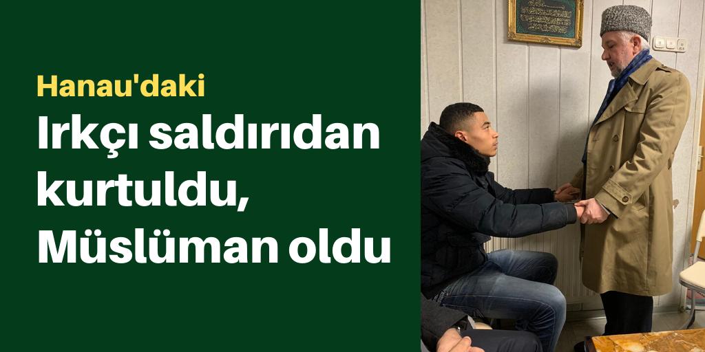 Irkçı saldırıdan kurtulan genç Müslüman oldu