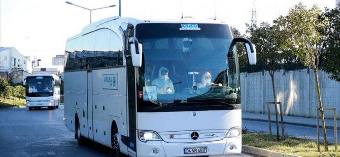 2 yolcunun karantina otobüsünden alınmasına soruşturma