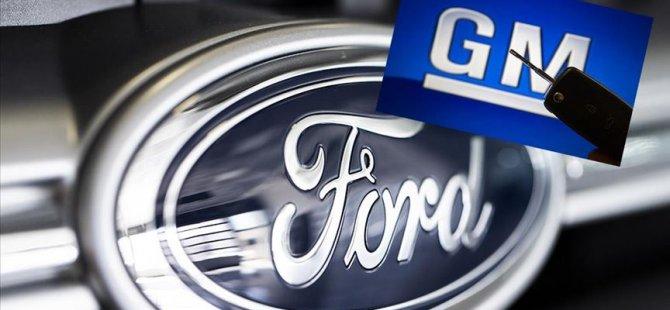 Ford ve General Motors üretimi durdurdu