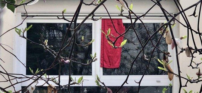 Fransa'da kırmızı bez dayanışması
