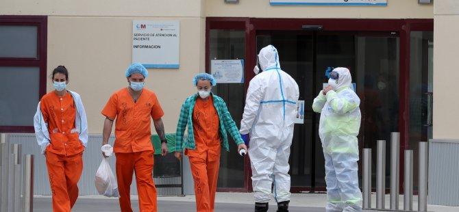 İspanya'da binlerce sağlık çalışanı koronaya yakalandı