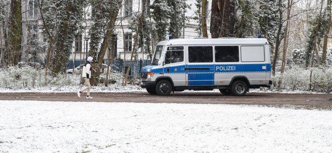 Almanya'da kış geri geldi