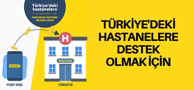 Türkiye'deki hastanelere yardım