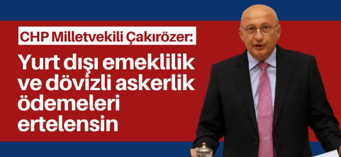 'Yurt dışındaki Türkler unutulmamalı'