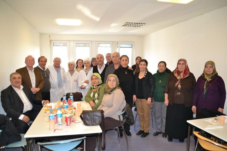 Öz Kayseri'ye emekli ziyareti