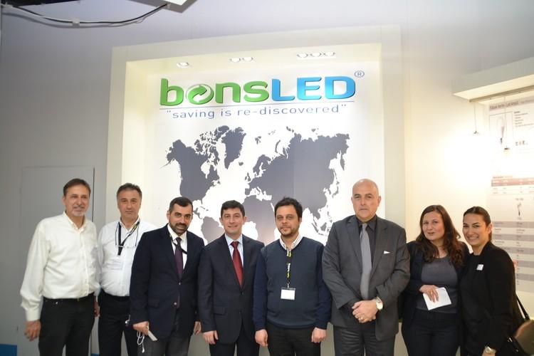 Türk firmaları ışıl ışıl