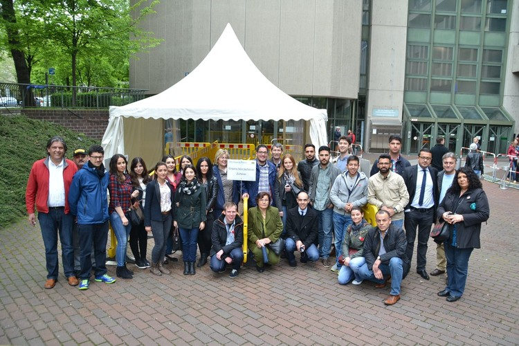 Türk öğrenciler NSU davasında