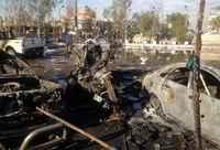 Explosions in Iraqi capital kill 45