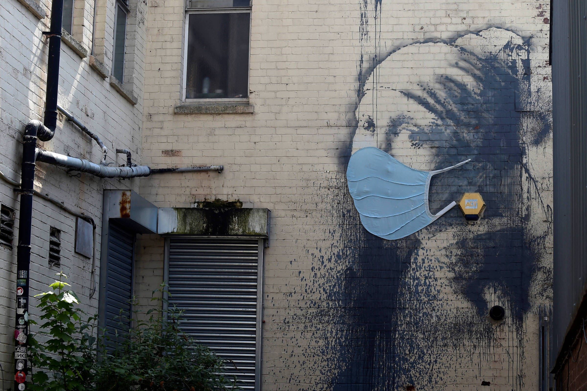 Banksy'den korona güncellemesi