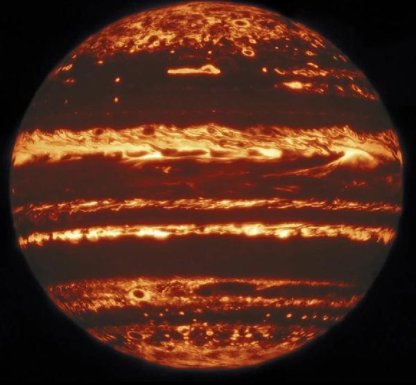 Jüpiter'in dünyadan en net fotoğrafı çekildi