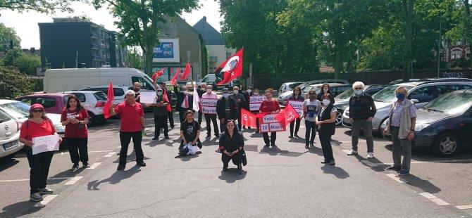 CHP'den Almanya'da yürüyüş