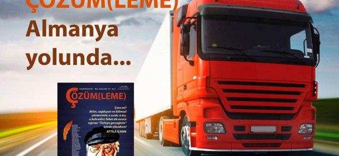 """""""Çözüm(leme)"""" geliyor: Utku Erişik, yeni düşün dergisi ile Almanya'da"""
