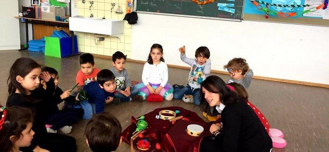 Türkçeli miniklere anadilde erken yaşta müzik eğitimi