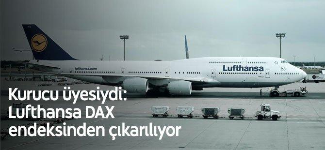Kurucu üyesiydi: Lufthansa DAX endeksinden çıkarılıyor