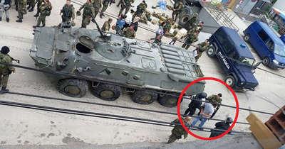 Makedonya'da çatışma:12 polis yaralı