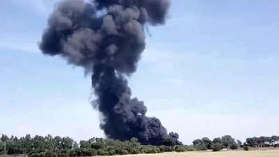 İspanya'da uçak yere çakıldı: 10 ölü