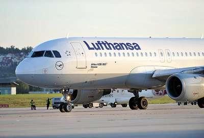 Lufthansa uçağı zorunlu iniş yaptı