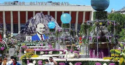 Aliyev'in doğum günü kutlandı