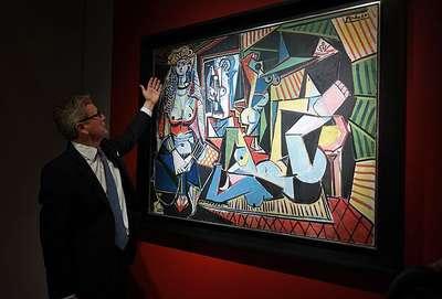 Picasso'nun eseri müzayede rekoru kırdı