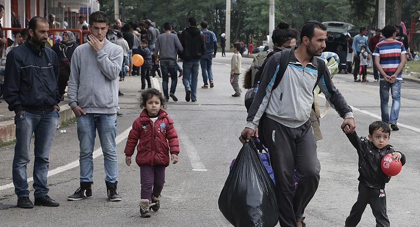 Mülteciler Almanya'ya isyan etti