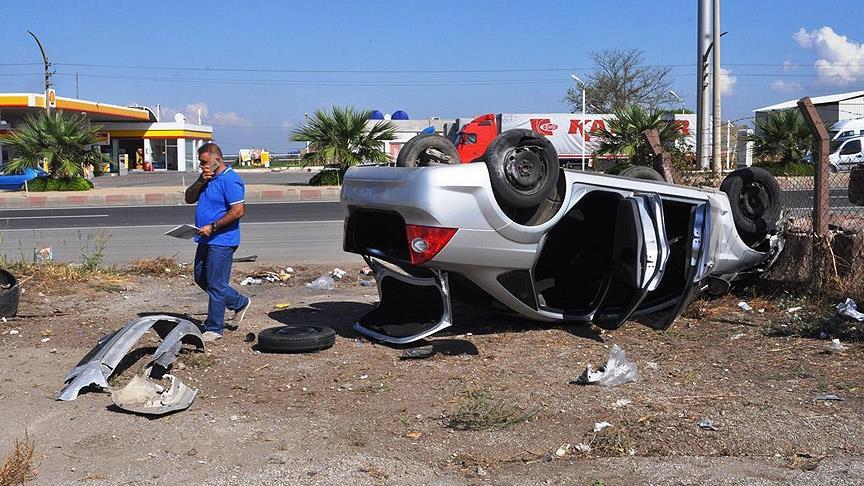 Bayram trafiğinde 134 ölü, 650 yaralı