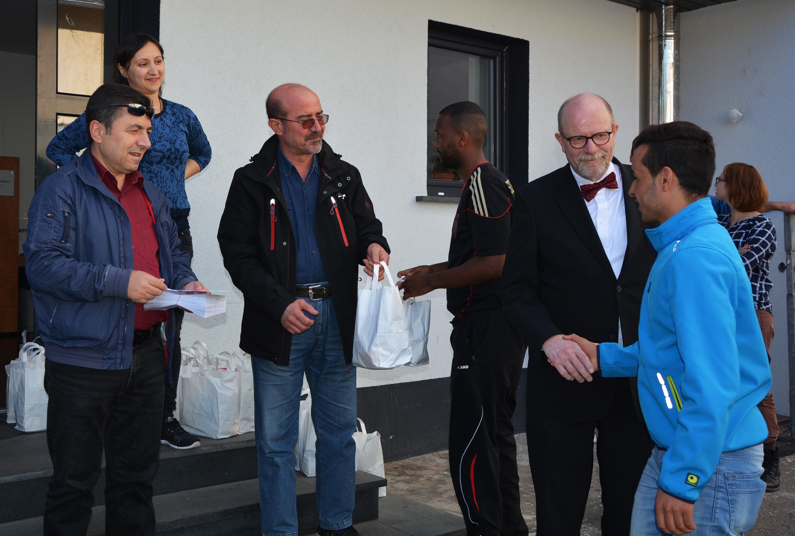 KUBİ, bayramı mülteci gençlerle kutladı