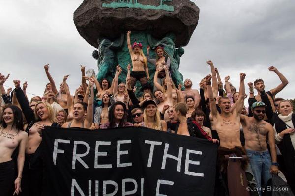 İsveç'te üssüz Facebook protestosu