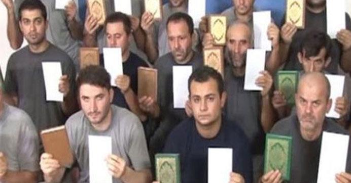 Türk işçiler serbest
