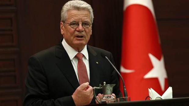 Almanya Cumhurbaşkanı Gauck iftara katıldı