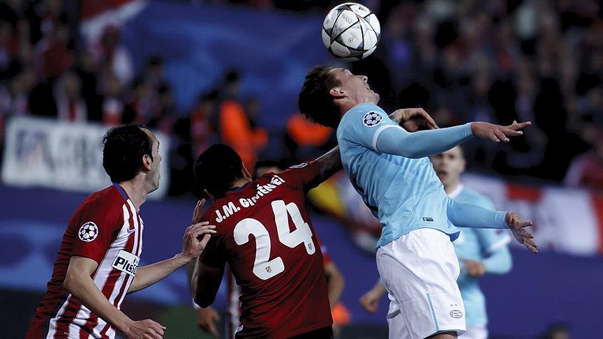 Atletico Madrid UEFA Lig'nde çeyrek finalde