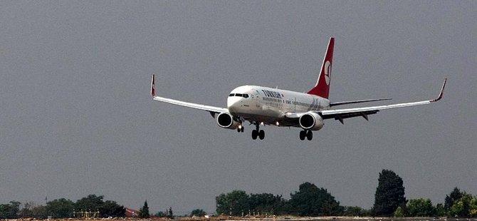 THY uçağı havada arızalandı