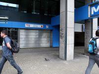 Brüksel'de grev başladı