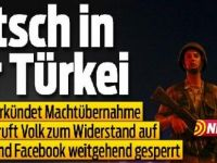 İsviçre basını: Erdoğan halkı direnişe çağırdı