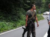 Maçka'da teröristlerle çatışma çıktı