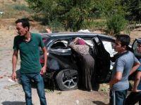 Gurbetçi aile kaza yaptı: 1 ölü 5 yaralı