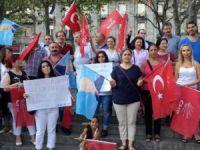 Köln'de CHP'liler Kılıçdaroğlu'na saldırıyı kınadı