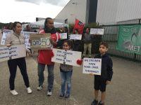 Türkiye kökenli işçi, Belçika'da direniş çadırı kurdu
