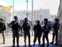 İsrail polisi Müslüman mezarlığını bastı