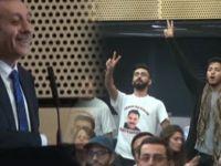 Londra'da Mehdi Eker'e protesto