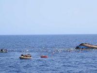 29 göçmen fırtınaya yakalandı