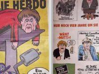 Charlie Hebdo Almanya'da piyasaya çıktı