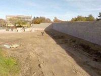 Almanya'daki 'utanç duvarı' tamamlanmak üzere